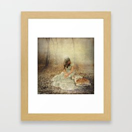 Forest Friend Framed Art Print