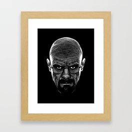 The Cook Framed Art Print