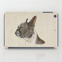 bulldog iPad Cases featuring Bulldog by Marta Bocos