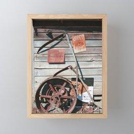 Spitting Prohibited Framed Mini Art Print