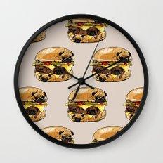 Pugs Burger Wall Clock
