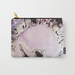Purple Rorschach Test Carry-All Pouch