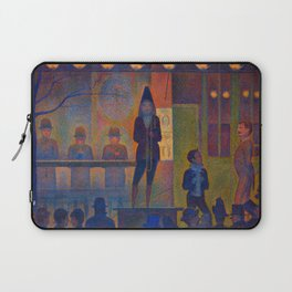 "Georges Seurat ""Circus Sideshow (Parade de cirque)"" Laptop Sleeve"