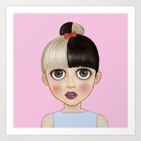 CRY BABY MEL Art Print