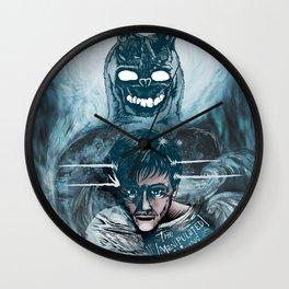 Frank the Bunny & Donnie Darko Wall Clock