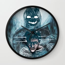Frank the Bunny & Donnie Darko Wall Clock