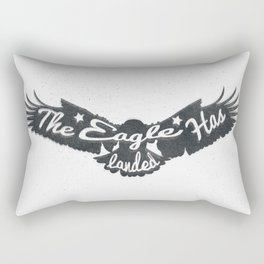 The Eagle Has Landed Rectangular Pillow