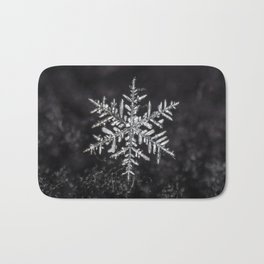 January Snowfake #5 Bath Mat