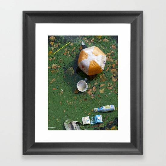 rubbish Framed Art Print
