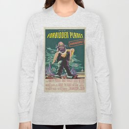 Vintage poster - Forbidden Planet Long Sleeve T-shirt