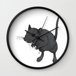 Gerbil Off Wall Clock
