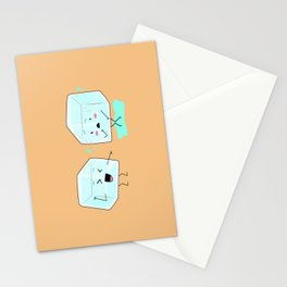 Ice cube problems Stationery Cards