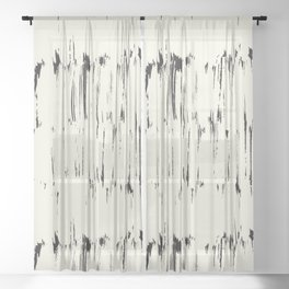 Scandinavian Paint Sheer Curtain
