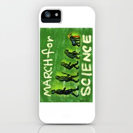 March For Science iPhone Case