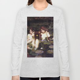 HYLAS AND THE NYMPHS - WATERHOUSE Long Sleeve T-shirt