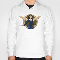 agent carter Hoodies featuring Agent Carter by Arania