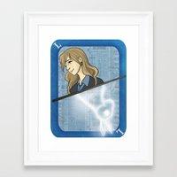 luna lovegood Framed Art Prints featuring Luna Lovegood by Imaginative Ink