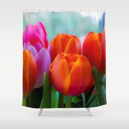 Flower Photography by Hugo Kruip Shower Curtain