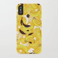 banana iPhone & iPod Cases featuring Banana by Ornaart