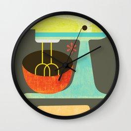 Kitchen Mix & Roll Wall Clock