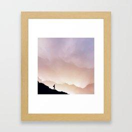 I'm coming home Framed Art Print