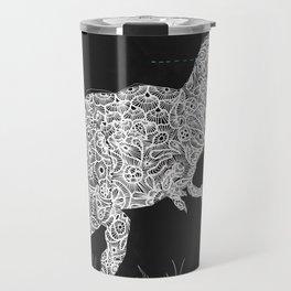 Lace Rex Travel Mug