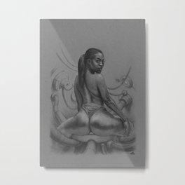 Against my flesh Metal Print