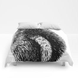 Penguin sketch Comforters