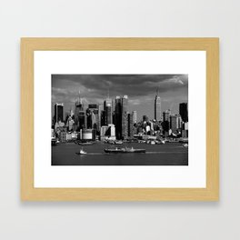 New York City Skyline 2009 Framed Art Print