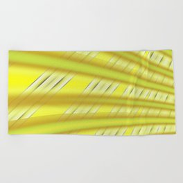 Fractal Play in Citruslicious Beach Towel