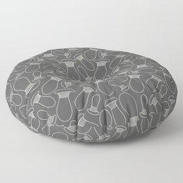king oyster mushrooms Floor Pillow
