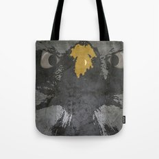angry eagle Tote Bag