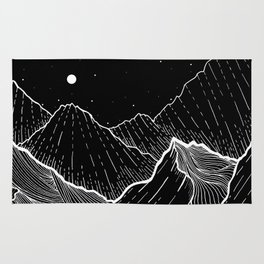 Sea mountains Rug