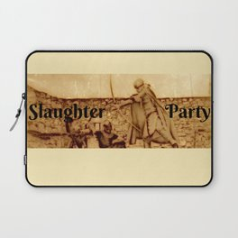 Slaughter Party Laptop Sleeve