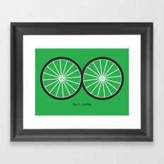 Fig.8: cycling Framed Art Print