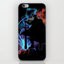 Super Smash Bros. Ike Silhouette iPhone Skin