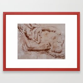 The Fall of Vladimir  Framed Art Print