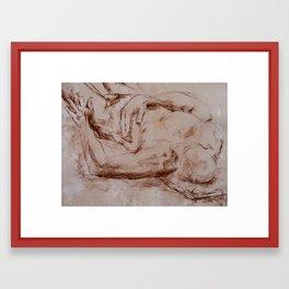 The Fall of Vladimir  Framed Art Print