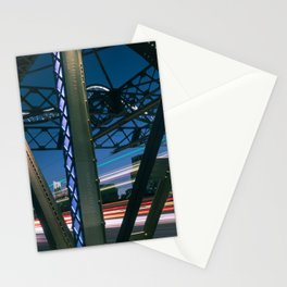 Urban Nights, Urban Lights 4 Stationery Cards