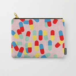 PILLS! PILLS! PILLS! - PINK Carry-All Pouch