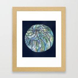 Dreaming Shell Framed Art Print