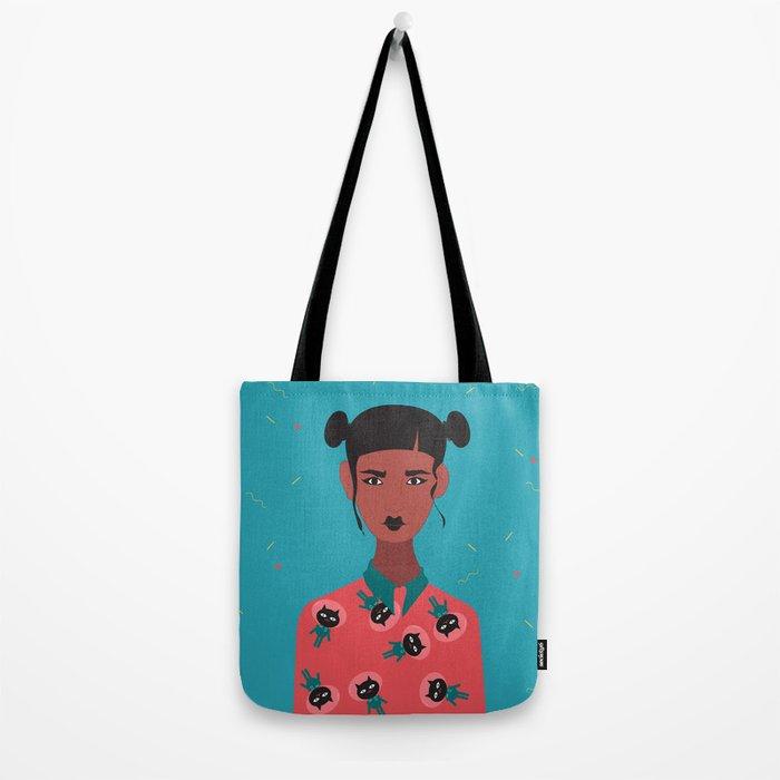 Hairbuns & PrintShirts Tote Bag
