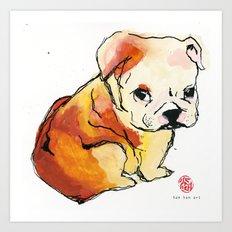 JUJU Art Print