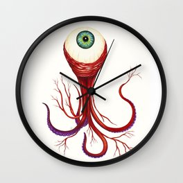 Eyeball Wall Clock
