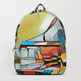 Daisy One Abstract Backpack