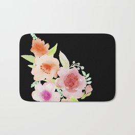 Spanish flowers Bath Mat