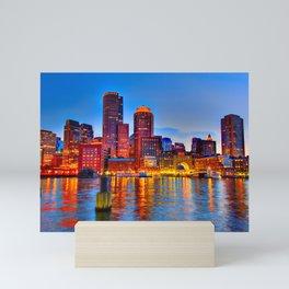 Boston Harbor Mini Art Print