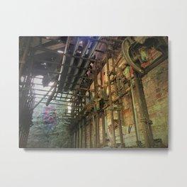 Savage Mills Pump Controls Metal Print