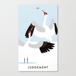Talon Tarot - Judgement Canvas Print