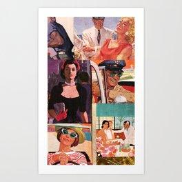 PULP LIFE Art Print